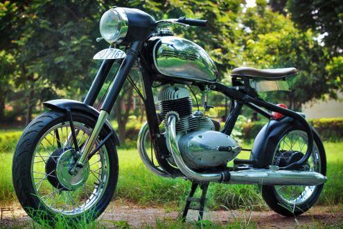 1972 Jawa 250 Racer от Higland Custom Motorcycles