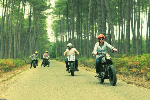 Blitz Motorcycles: трекеры из баварцев. BMW R100/7