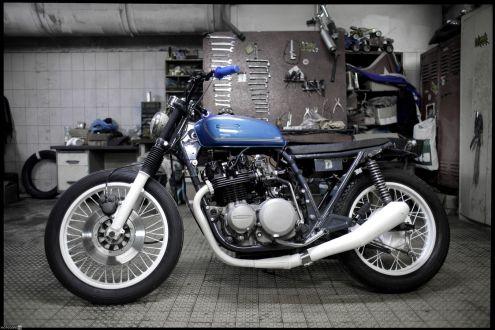 Kawasaki Z650 Blue Blitz