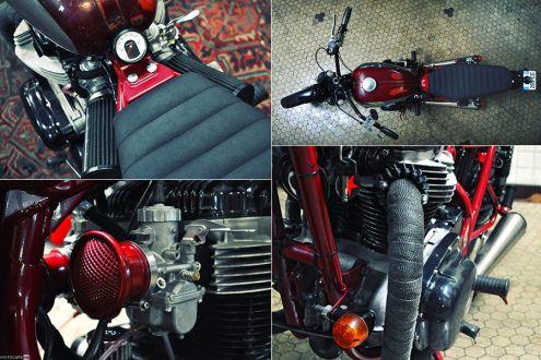 Gentle Tracker от Blitz Motorcycles из Kawasaki W650