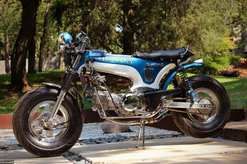 1977 Honda CT70 Dax – дорога смелых
