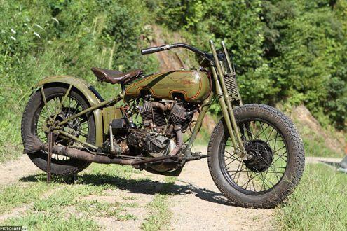 1926 Harley-Davidson – и в восемьдесят пять можно быть спортсменом!