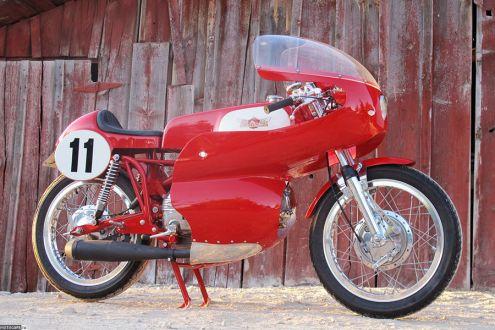Возрожденный Aermacchi от Union Motorcycle Classics