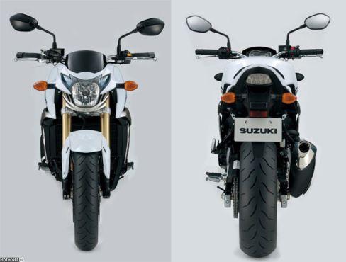 Intermot 2010: Официальные данные и фото Suzuki GSR750