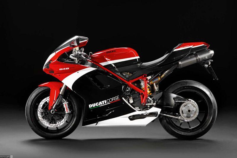 2012 Ducati 848 Evo Corse Special Edition еще больше трека