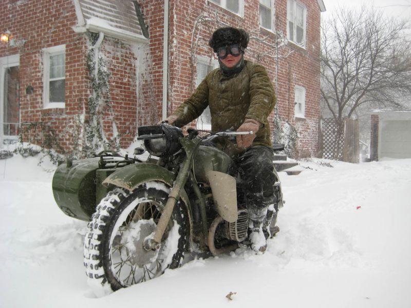 Мотоцикл Урал: Дороги!? Мне не нужны никакие к черту дороги!!