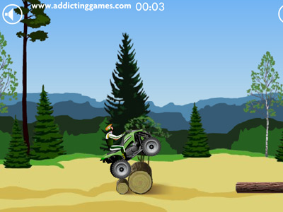 Flash game biker - Байкер
