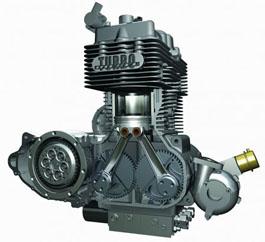 Дизельный двигатель на мотоцикле
