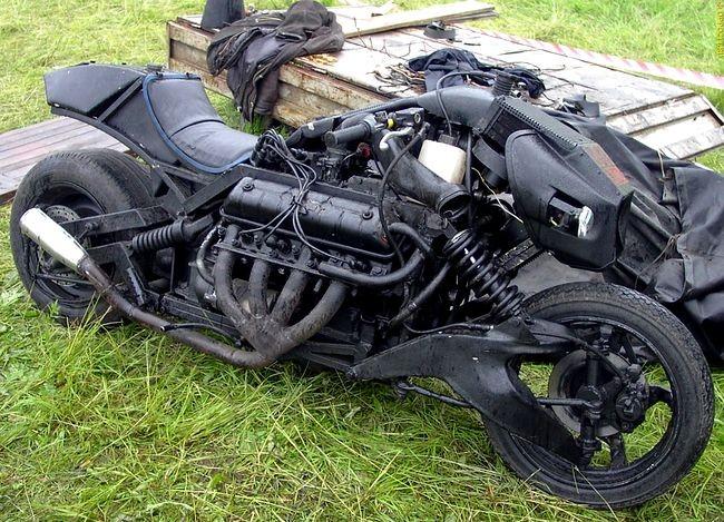 Создан электромотоцикл, oн же — домашний аккумулятор