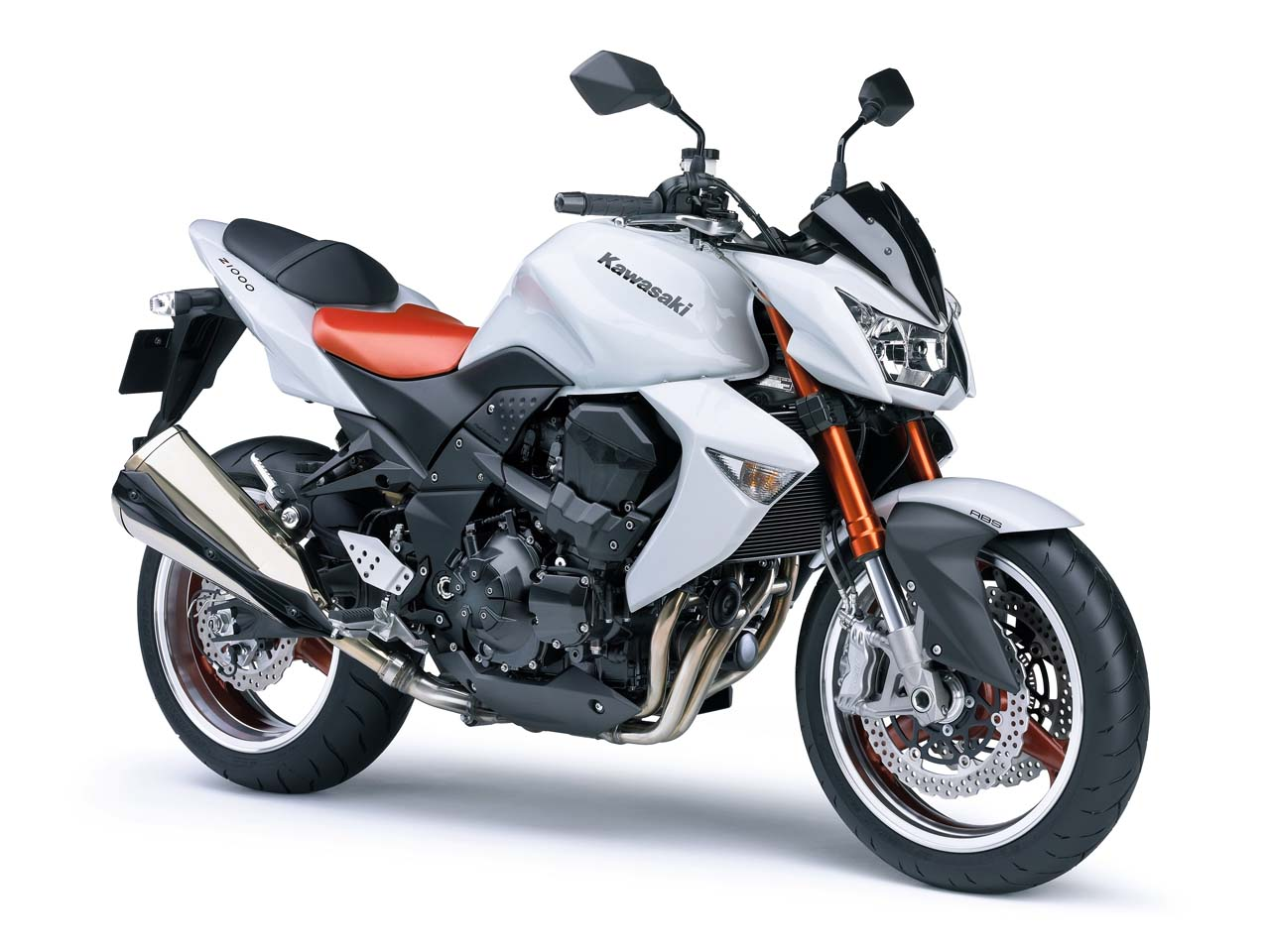 Kawasaki Z1000 White Edition 2008