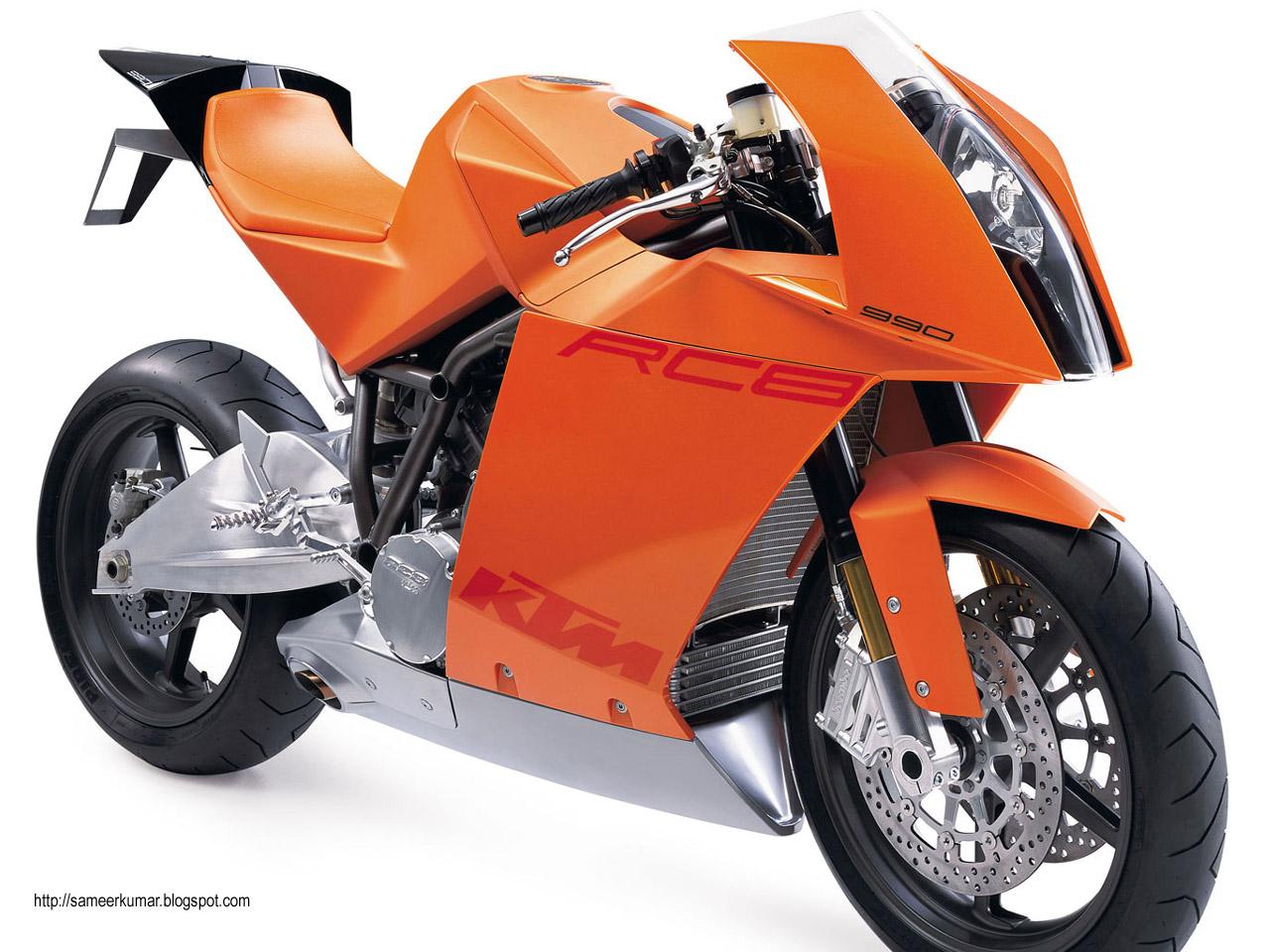 KTM долгожданный RC8