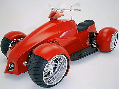 Bourget Shredder F-80: 425-сильный, V8 спортивный квадроцикл