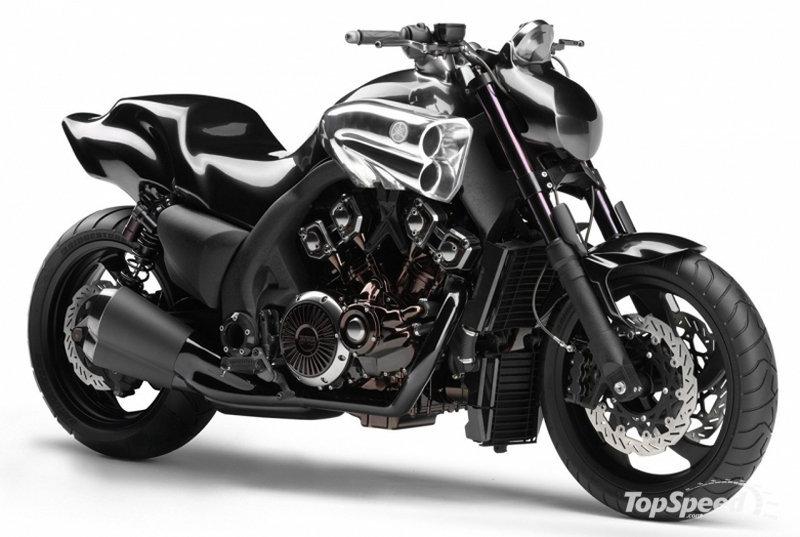 Анкета Глума. Yamaha-v-max-2009