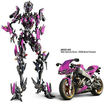 Transformers 2 Buell Firebolt. ???? ?????????? ? ????????? ?????