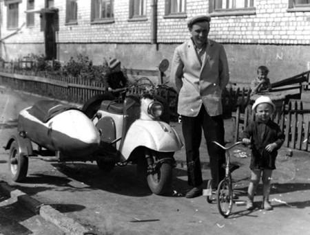 Мотороллеры из СССР
