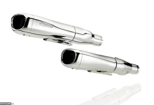 Akrapovic Custom Exhaust Line - новая линейка глушителей для чопперов